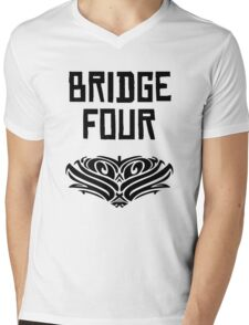 Bridge Four Kaladin Windrunner Mens V-Neck T-Shirt