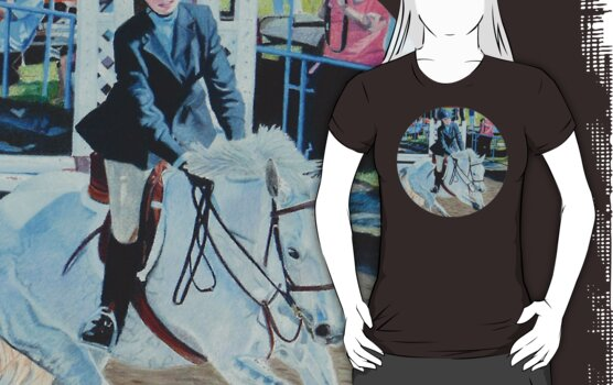 Horseshow T-Shirt or Hoodie by Patricia Barmatz