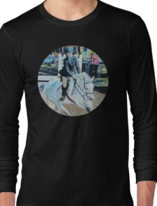 Horseshow T-Shirt or Hoodie Long Sleeve T-Shirt