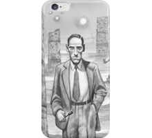 HP Lovecraft - Explorer of Strange Worlds iPhone Case/Skin