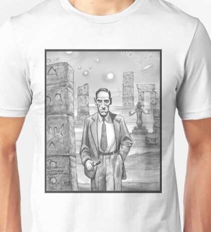 HP Lovecraft - Explorer of Strange Worlds Unisex T-Shirt