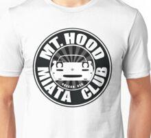 Mt Hood Miata Club BLK Unisex T-Shirt
