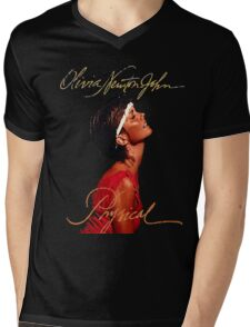 Olivia Newton-John - Let's Get Animal Mens V-Neck T-Shirt