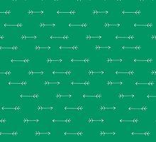 Arrows Verde by Leah Flores