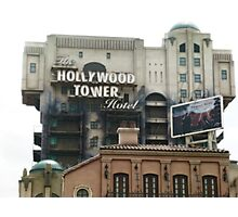 Hollywood Tower Hotel Photographic Print