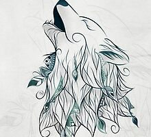 Wolf by LouJah-