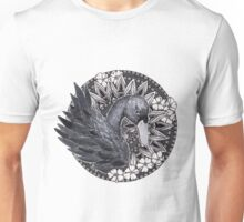 Black Swan Mandala Unisex T-Shirt