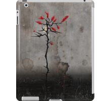Crescent Moon Red Leaves iPad Case/Skin