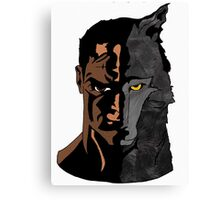The Animal In Us Canvas Print