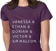 Penny Dreadful - Characters' Names Womens Fitted T-Shirt