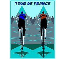TOUR DE FRANCE; Bicycle Racing Advertising Print Photographic Print
