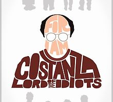 George Costanza - Lord of the Idiots by Neil K