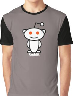 Reddit Alien Graphic T-Shirt