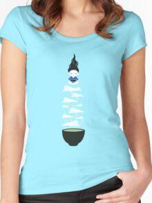 Zen tea II Women's Fitted Scoop T-Shirt
