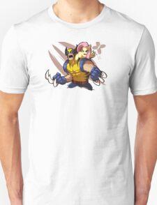 Wolverine X Fluttershy Unisex T-Shirt