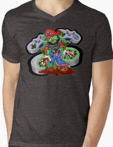 16-Bit Nightmare Mens V-Neck T-Shirt