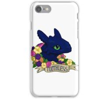 Flower Toothless iPhone Case/Skin