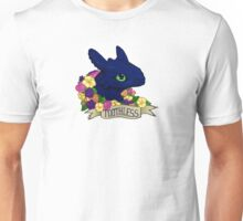 Flower Toothless Unisex T-Shirt