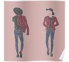 seventeen's jun - fashion study Poster