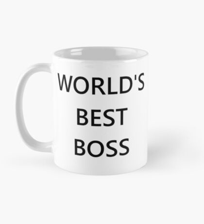 The World's Best Boss Office Mug