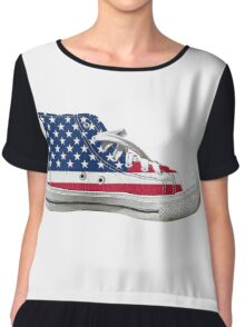 Hi Top Basketball Shoe United States Chiffon Top