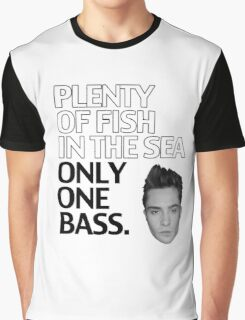 Plenty of Fish in the Sea Only One Bass Graphic T-Shirt