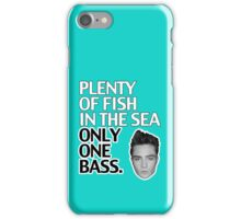 Plenty of Fish in the Sea Only One Bass iPhone Case/Skin