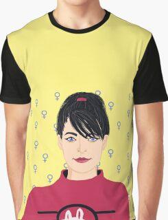 Kathleen Hanna Graphic T-Shirt