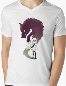 Werewolf Mens V-Neck T-Shirt