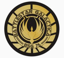 Battlestar Galactica Golden Logo (Model 1) by ObiOneStenobi