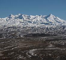 Mount Ruapehu by Mark Hill