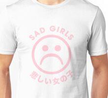 Sad Girls Sad Face // Vaporwave Japanese Unisex T-Shirt