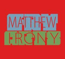 Matthew Fry Irony Arts One Piece - Short Sleeve