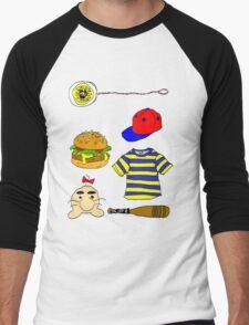Nostalgia NESS Men's Baseball ¾ T-Shirt