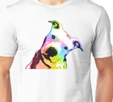 Pit bull | Rainbow Series | Pop Art Unisex T-Shirt