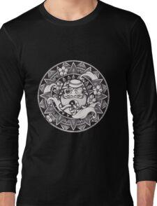 Daruma Mandala Long Sleeve T-Shirt