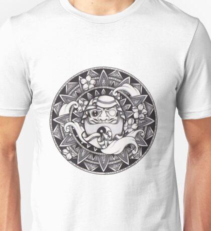 Daruma Mandala Unisex T-Shirt