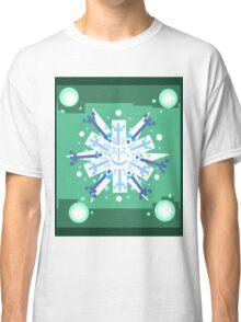 Snowflake Sunburst Classic T-Shirt