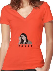Alex Vause Orange is the new black Women's Fitted V-Neck T-Shirt