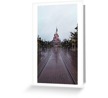 Sleeping Beauty Castle- Alone Greeting Card