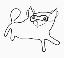 Gatto mascherato One Piece - Short Sleeve