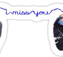 Feeling Blue - Missing You Sticker