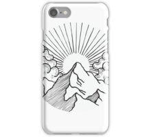 Mountain Circle iPhone Case/Skin