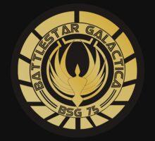 Battlestar Galactica Golden Logo (Model 2) by ObiOneStenobi