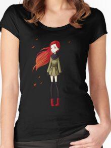 Autumn Breeze Women's Fitted Scoop T-Shirt
