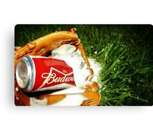 Budweiser Beer Canvas Print