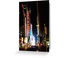 Times Square, New York Greeting Card