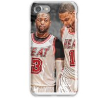 Dwyane Wade & Chris Bosh - South Beach iPhone Case/Skin
