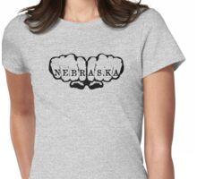 Nebraska! Womens Fitted T-Shirt