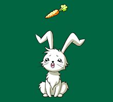 Bunny Carrot Womens Fitted T-Shirt